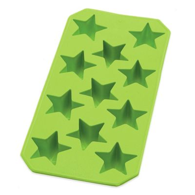 Lékué Slim Star Ice Cube Tray in Green