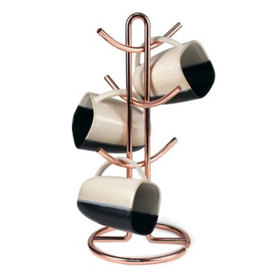 Spectrum™ Euro Mug Tree in Copper