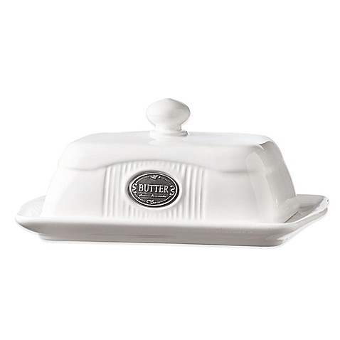 Global Amici Yorkshire Collection Butter Dish - BedBathandBeyond.com