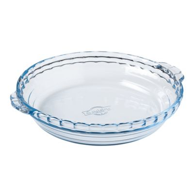 Clear Pie Dish