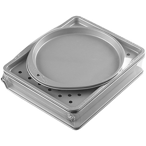 Countertop Oven Bakeware : Buy Wilton? 4-Piece Toaster Oven Bakeware Set from Bed Bath & Beyond