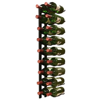 Vintotemp® 18-Bottle Epic Metal Wine Rack in Black