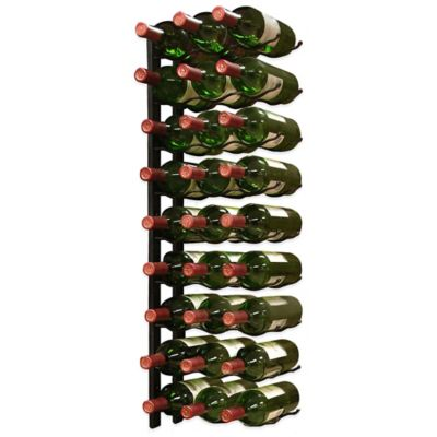 Vintotemp® 27-Bottle Epic Metal Wine Rack in Black