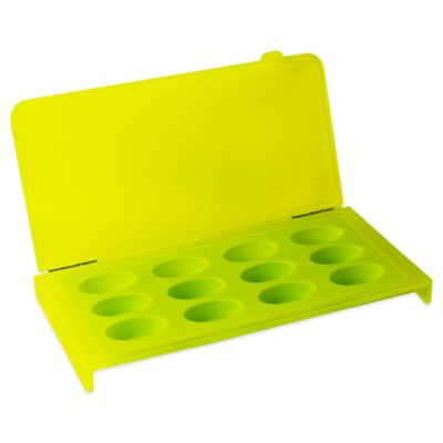Silicone Ice Cube Tray in Green