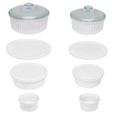 CorningWare® French White® 12-Piece Bakeware Set