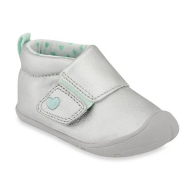 Carter's® Every Step Stage 1 Size 2.5 Crawl Shoe in Grey
