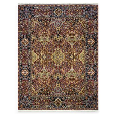Karastan English Manor Hampton Court 2-Foot 9-Inch x 5-Foot Rug in Red