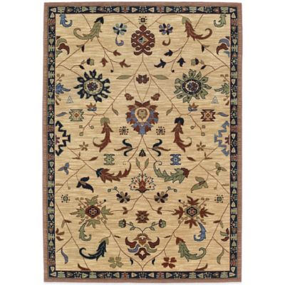 Karastan English Manor Preston 2-Foot 6-Inch x 8-Foot Runner in Beige
