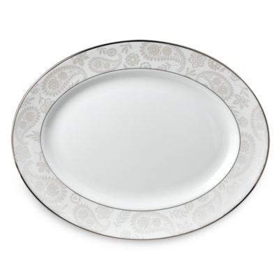 kate spade new york Bonnabel Place™ 13-Inch Oval Platter