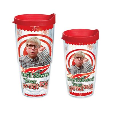 "Tervis® ""A Christmas Story"" ""You'll Shoot Your Eye Out Kid"" Wrap 24 oz. Tumbler with Lid"