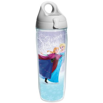 """Tervis® """"Frozen"""" Anna and Elsa Skating 24 oz. Wrap Water Bottle with Lid"""