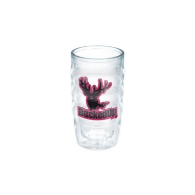 Tervis® Bucked Up® Pink Logo Wavy 10 oz. Tumbler