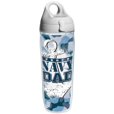 Tervis® Proud Navy Dad Wrap 24 oz. Water Bottle with Lid