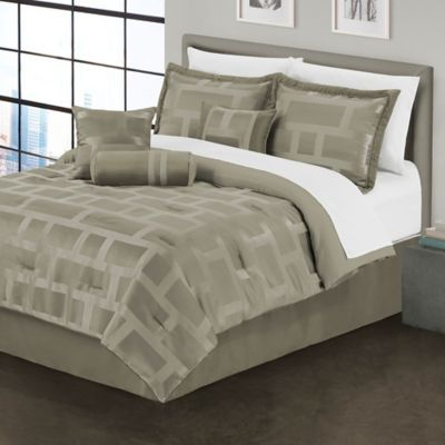 Metro 7-Piece Full Comforter Set