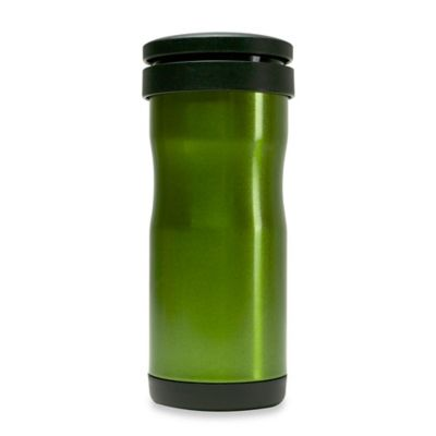Primula® 12 oz. Thermal Tea Tumbler with Infuser in Green