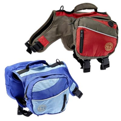 Henry & Clemmie's Medium Pet Backpack in Red