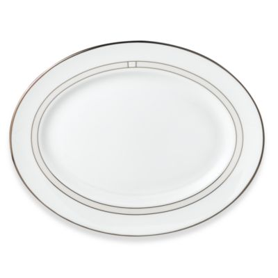 kate spade new york Noel Alabaster™ 13-Inch Oval Platter