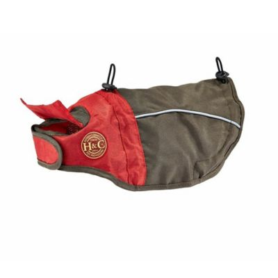 Henry & Clemmie's Large All-Weather Pet Jacket in Red