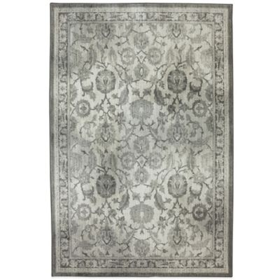Karastan Euphoria New Ross 5-Foot 3-Inch x 7-Foot 10-Inch Rug in Ash Grey
