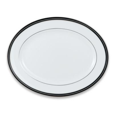 kate spade new york Union Street™ 13-Inch Oval Platter