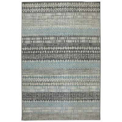 Karastan Euphoria Eddleston 2-Foot 1-Inch x 7-Foot 10-Inch Runner in Ash Grey