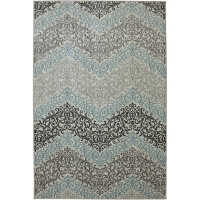 Karastan Euphoria Irvine 9-Foot 6-Inch x 12-Foot 11-Inch Rug in Sand Stone