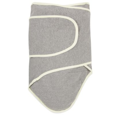 Miracle Blanket® Swaddle in Grey/Yellow