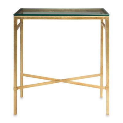 Safavieh Viggo Chairside Table in Gold