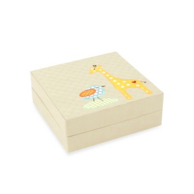 Wolf Designs Puzzle Box in Beige Giraffe