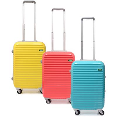 Lojel Groove Frame 19.5-Inch Carry-On Spinner Luggage in Yellow