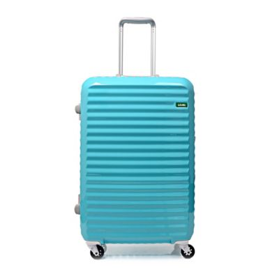 Lojel Groove Frame 24-Inch Spinner Luggage in Minty Blue