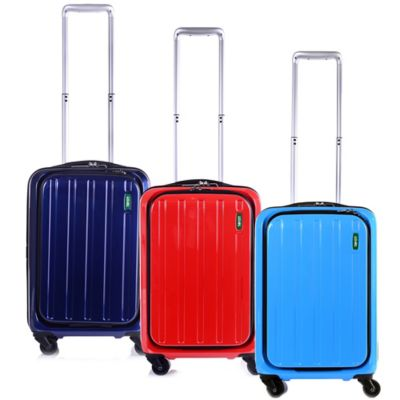 Lojel Lucid 19.5-Inch Carry-On Spinner Luggage in Carrera Blue