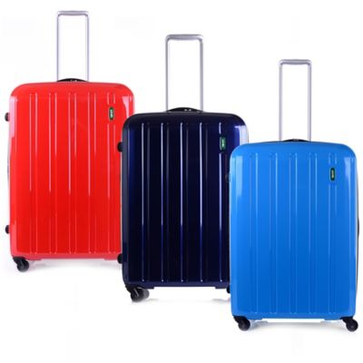 Lojel Lucid 25-Inch Spinner Luggage in Carrera Blue
