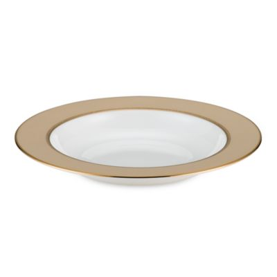 kate spade new york June Lane™ Gold 9-Inch Pasta/Rim Soup Bowl