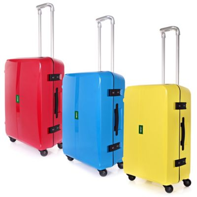 Lojel Octa 27-Inch Spinner Luggage in Yellow
