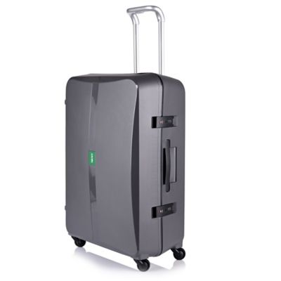 Lojel Octa 27-Inch Spinner Luggage in Dark Grey