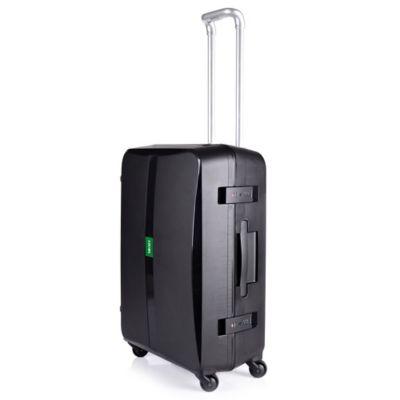 Lojel Octa 24-Inch Spinner Luggage in Black