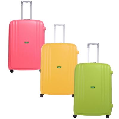 Lojel Streamline 25-Inch Spinner Luggage in Pink