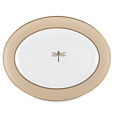 kate spade new york June Lane™ Gold 13-Inch Oval Platter