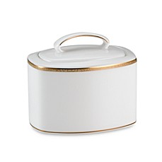 kate spade new york June Lane™ Gold Covered Sugar Bowl