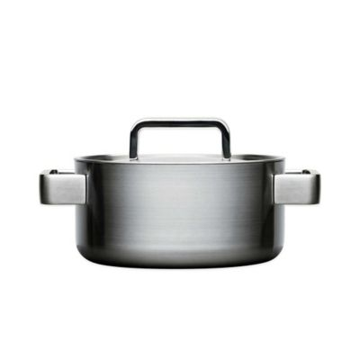 iittala Tools 3 qt. Stainless Steel Covered Casserole with Lid