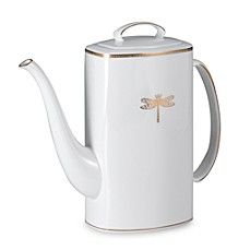 kate spade new york June Lane™ Gold 52-Ounce Coffee Pot