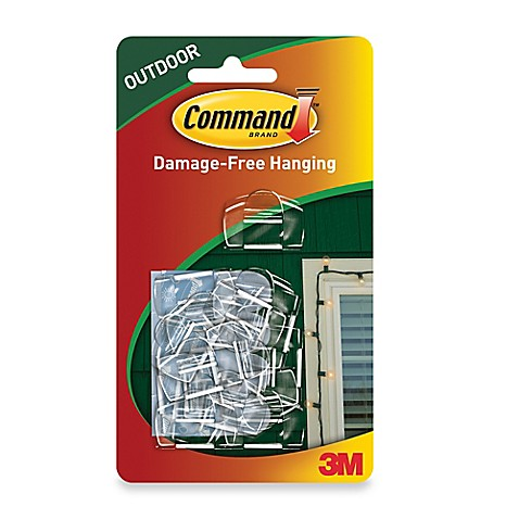 3m command outdoor light clips set of 16 is not available for