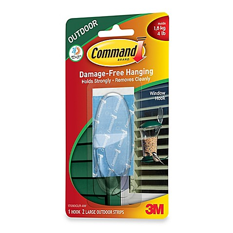3m command large outdoor hook in clear