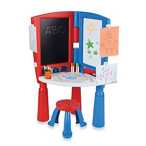 Buy Little Tikes 174 Kick Start Art Desk And Easel From Bed