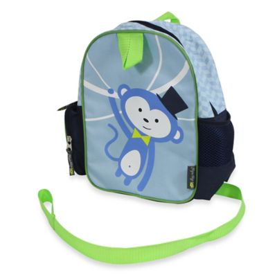 Itzy Ritzy® Preschool Happens™ Little Kid Harness Backpack in Monkey