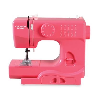 Janome Pink Lightning Portable Sewing Machine