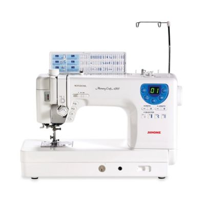 Janome Memory Craft 6300 Sewing/Quilting Machine