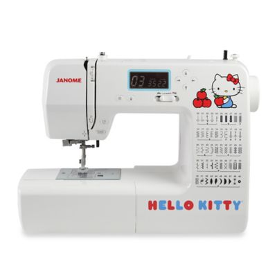 Janome Hello Kitty 18750 Computerized Sewing Machine