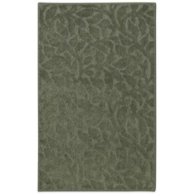 Mohawk Home SmartStrand Botanical 1-Foot 8-Inch x 2-Foot 10-Inch Rug in Green